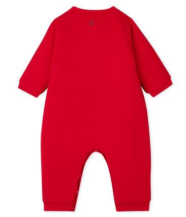 Combi bébé mixte rouge Terkuit