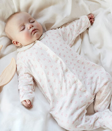 Dors bien bébé fille en tubique