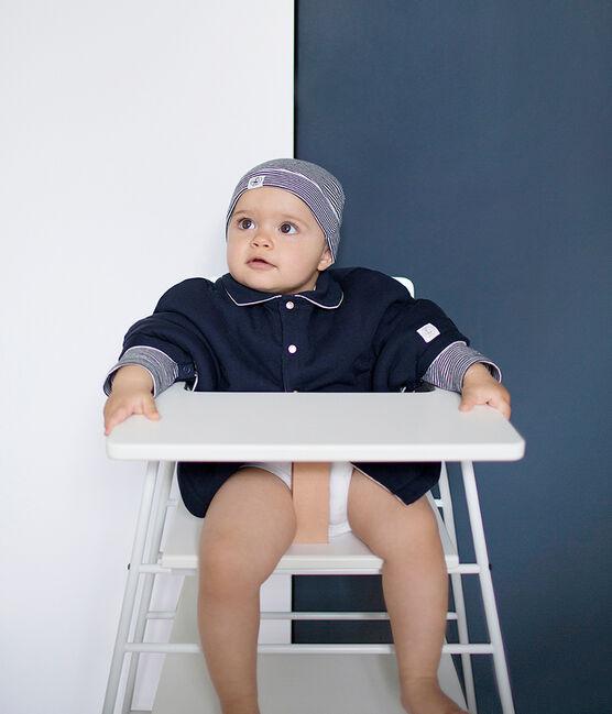 Cape bébé mixte bleu Smoking