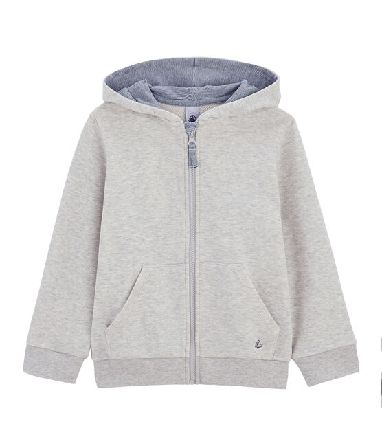 Sweat shirt enfant garcon gris Gris