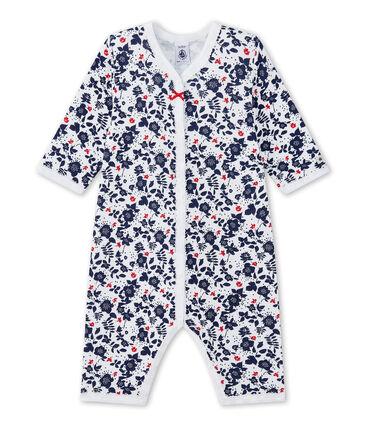 Dors bien sans pieds bébé fille en tubique imprimé
