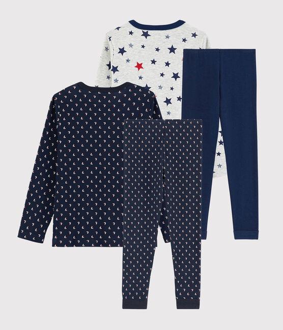 Lot de 2 pyjamas petit garçon en coton lot .