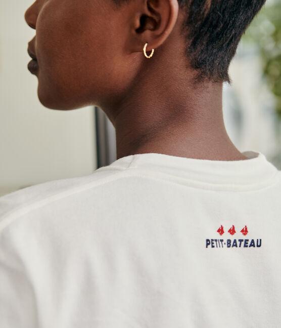 T-shirt Femme/Homme blanc Marshmallow