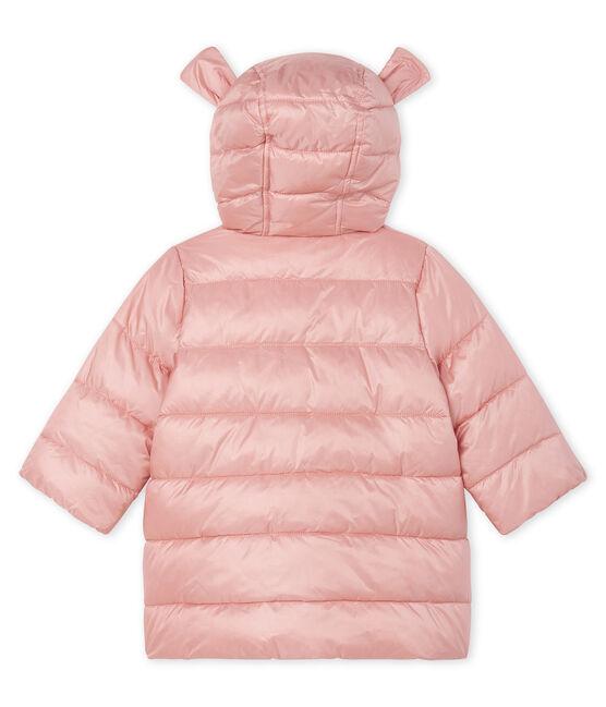 Doudoune bébé fille en polyamide satiné FLEUR