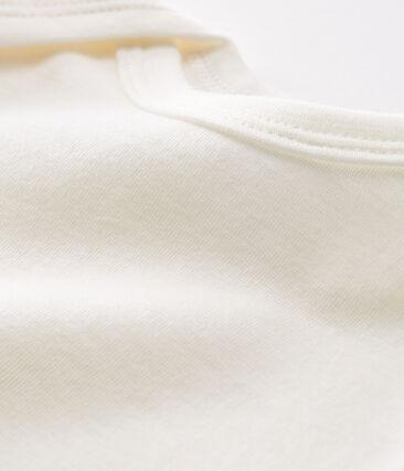 Body manches longues bébé en laine et coton