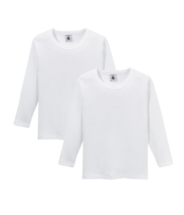 Duo de tee-shirts manches longues petit garçon