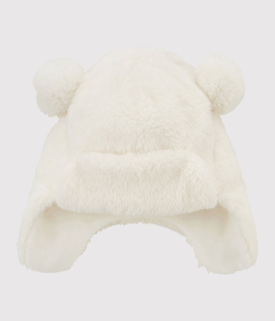 Bonnet enfant fille blanc Marshmallow