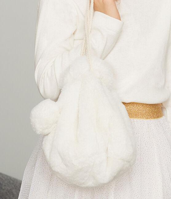 Sac enfant fille blanc Marshmallow