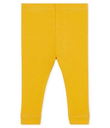 Legging bébé fille jaune Boudor