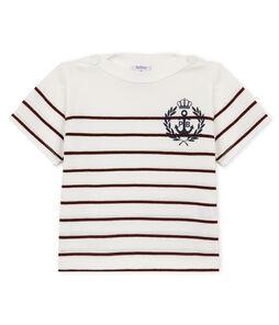 Tee-shirt manches courtes bébé garçon rayé