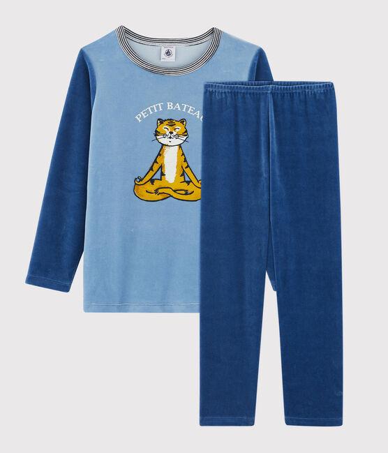 Pyjama en velours petit garçon ALASKA/MAJOR