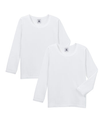 Duo de tee-shirts manches longues fille
