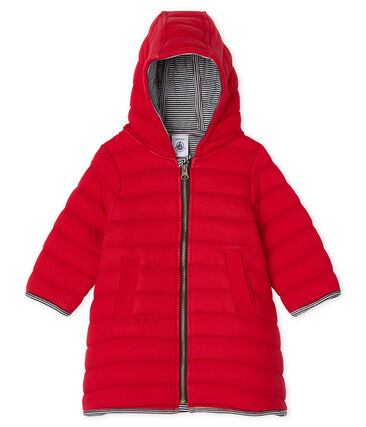 Manteau en tubique matelassé bébé fille