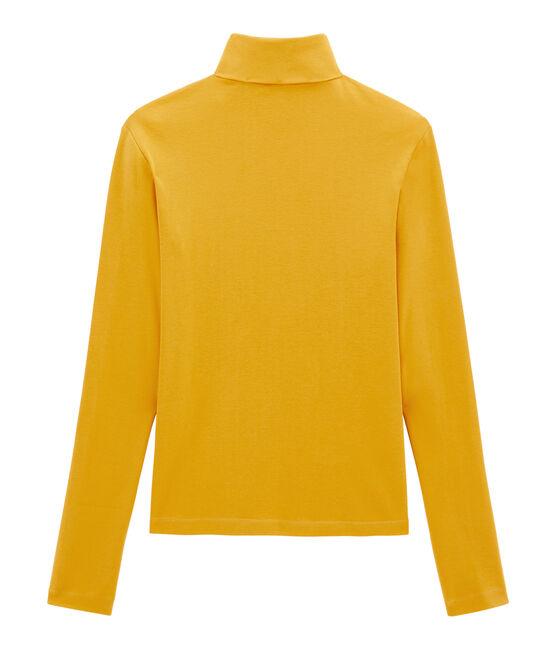 Sous pull femme jaune Boudor