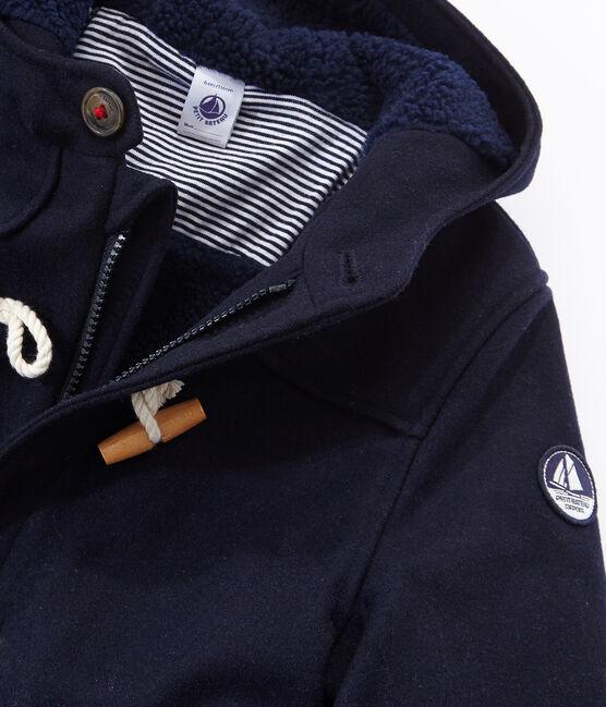 Duffle coat enfant garçon bleu Smoking