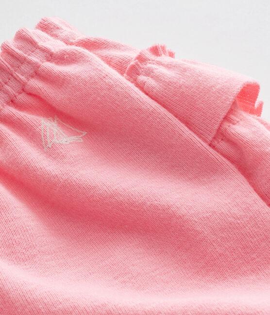 Culotte bloomer bébé fille rose Petal