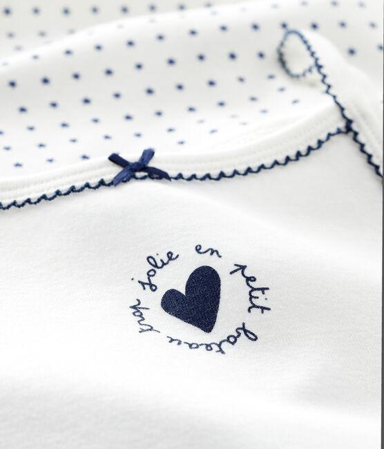 Lot de 2 chemises à bretelles à étoiles petite fille lot .