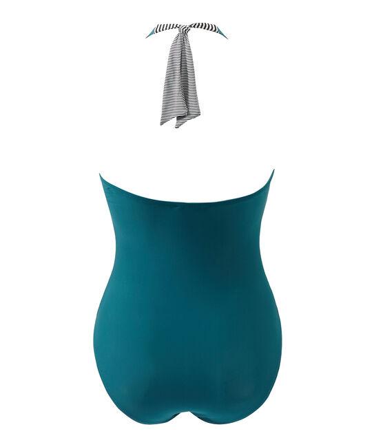 Maillot de bain 1 pièce femme vert Rivage