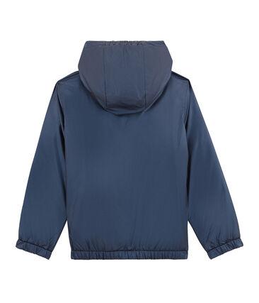 Coupe-vent chaud reversible enfant bleu Smoking