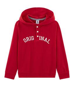 Sweatshirt à capuche enfant garçon