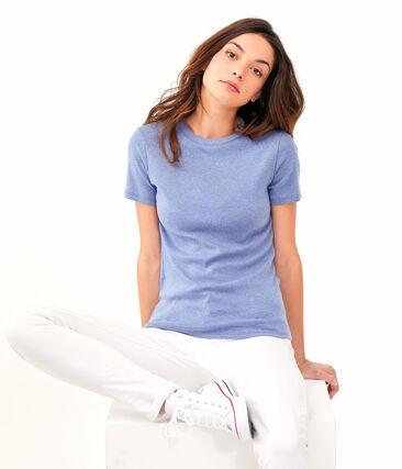 Tee shirt iconique femme bleu Captain Chine