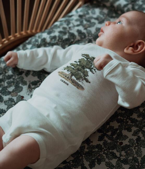 Lot de 3 bodies manches longues bébé garçon Petit Bateau x Deyrolle lot .