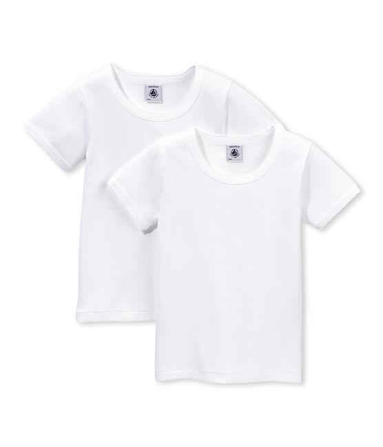 Duo de tee-shirts manches courtes fille lot .