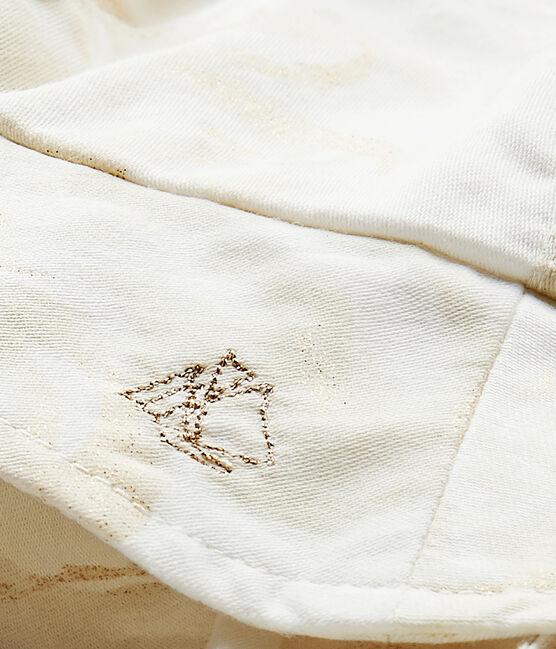 Chapeau bébé fille blanc Marshmallow / blanc Multico