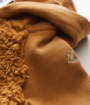 Sweatshirt à capuche bébé garçon en sherpa