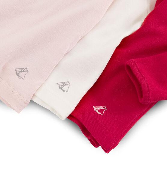 Lot surprise de 3 tee-shirts manches longues bébé fille lot .