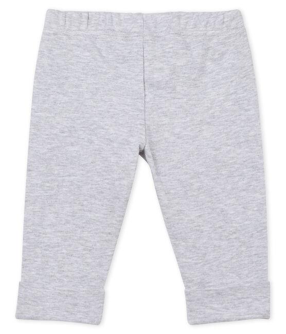 Pantalon en maille bébé fille gris Poussiere Chine