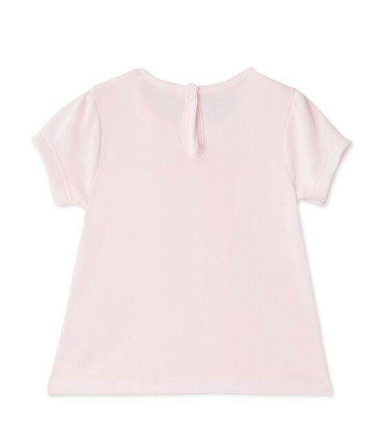 T-shirt bébé fille rose Vienne