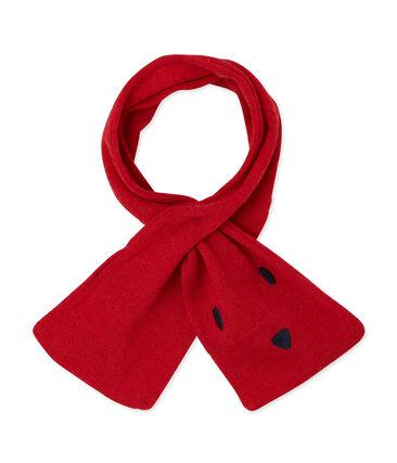 Echarpe bébé mixte rouge Froufrou