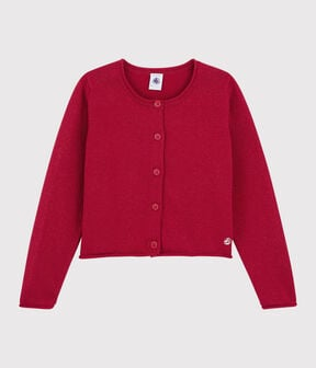 Cardigan en coton enfant fille TERKUIT BRILLANT