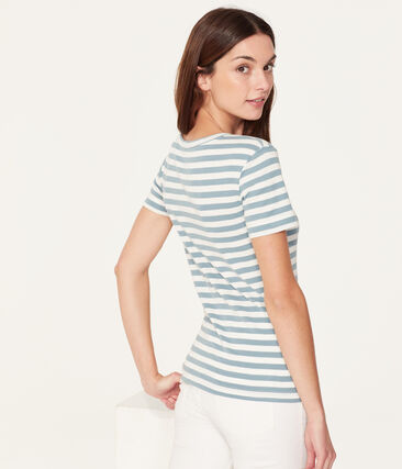 Tee-shirt manches courtes col rond femme