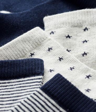 Lot de 3 paires de chaussettes bébé garçon