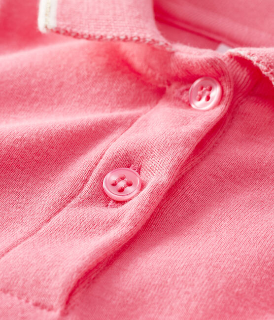 Robe polo bébé fille rose Cupcake