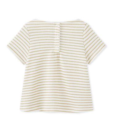 T-shirt bébé fille à rayures