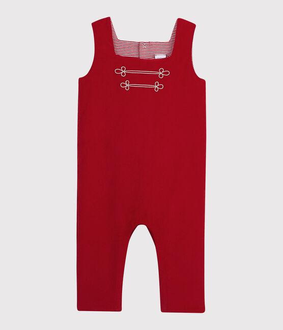 Combinaison longue bébé garçon rouge Terkuit