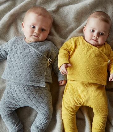 Ensemble deux pièces bébé en tubique matelassé