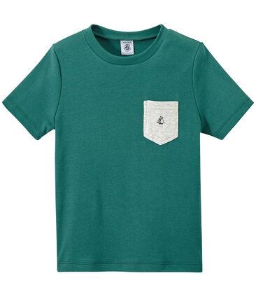 T-shirt garçon à poche poitrine