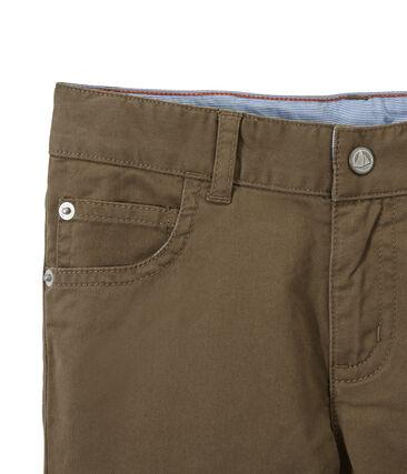 Pantalon de couleur garçon en jean