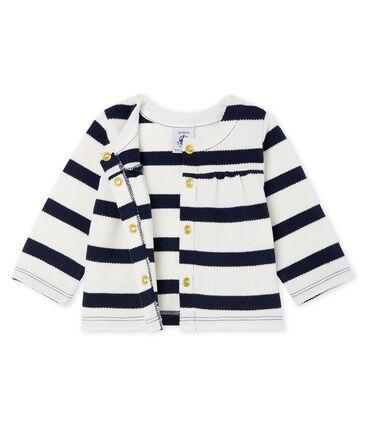 Cardigan rayure marinière bébé fille