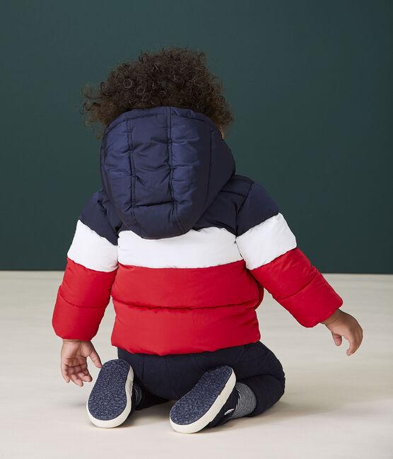 Doudoune matelassée bébé garçon bleu Smoking / blanc Multico