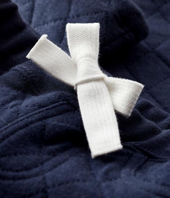 Pantalon en tubique bébé garçon bleu Smoking