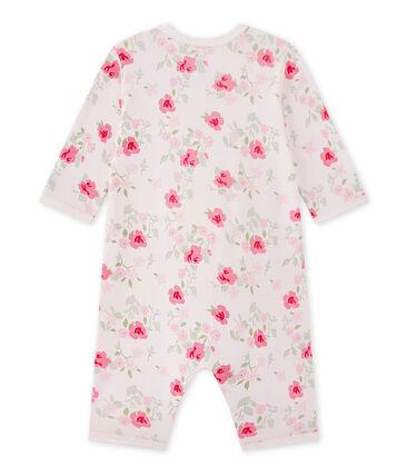 Dors bien sans pieds bébé fille imprimé