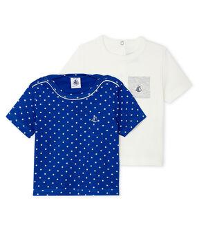 Lot de 2 tee-shirts bébé garçon lot .