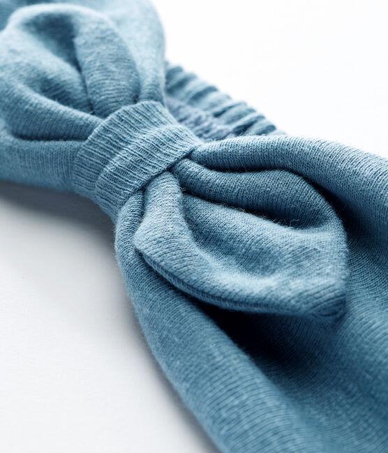 Bandeau cheveux bébé fille bleu Fontaine