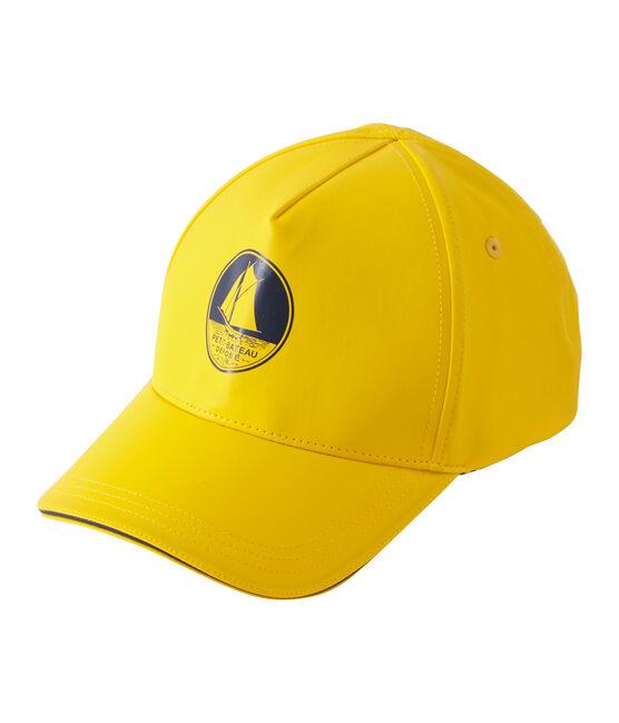 Casquette jaune Jaune