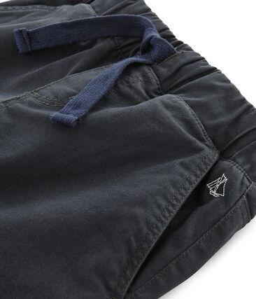 Pantalon doublé chaud enfant garçon gris Capecod